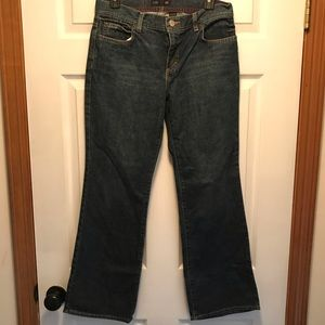 NWT J Crew Bootcut Jeans Vintage Wash Size P6